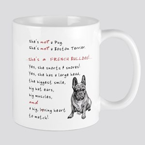 SHE'S not a Pug! (Serious) Mug